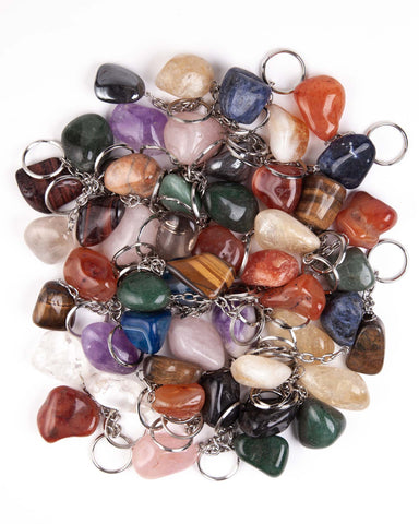 Assorted Tumbled Keychains