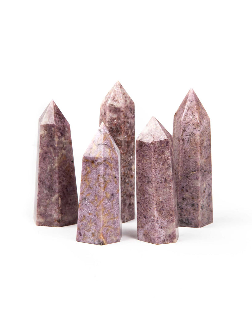 Lepidolite Polished Point