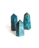 Blue Apatite Polished Point