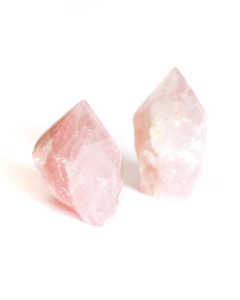 Rose Quartz Top Polished Point