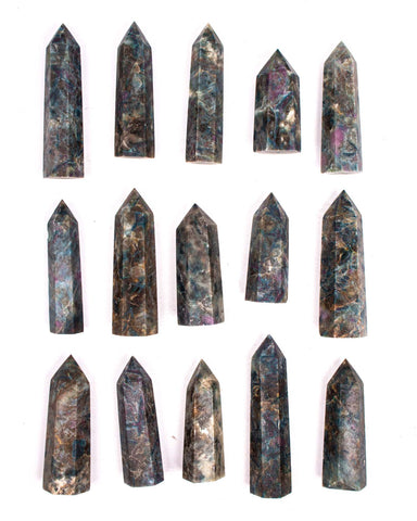 Ruby Kyanite Polished Point