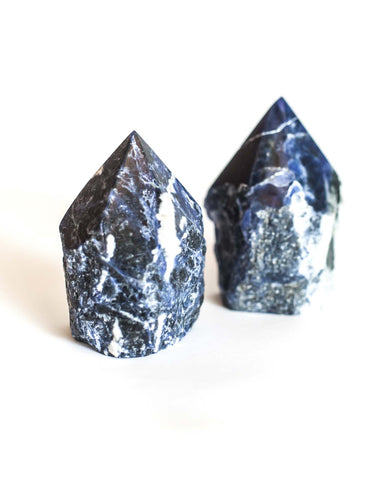 Sodalite Top Polished Point