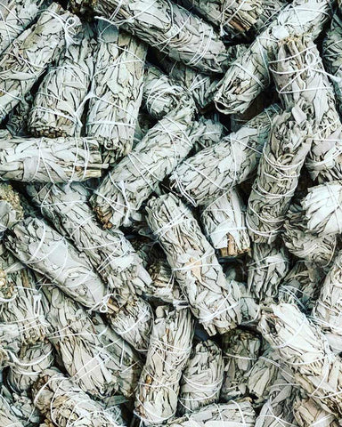BULK SPECIAL - White Sage Smudge - 4 inch (Case of 100)