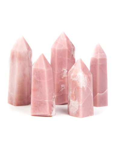 Pink Opal Polished Point