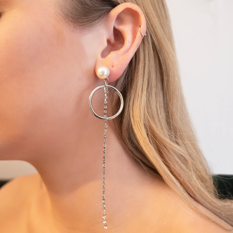 Kate Pearl Drop Earrings