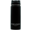 Travelers Tumbler - The Boy & The Bear Logo {Matte Black}