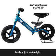 SCRAAAM Coaster GT Kids Lightweight Balance/Run Bike - Aluminum Frame