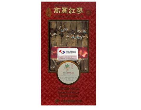 Korean Red Ginseng Root (4 years) X 50 pieces  by Bulrogeon brand (300g)
