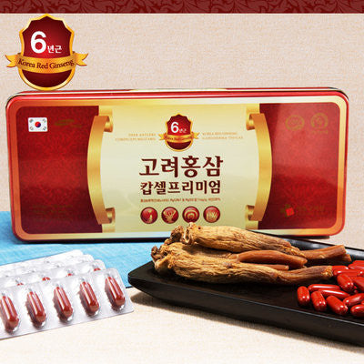 Red Ginseng Capsule Gold