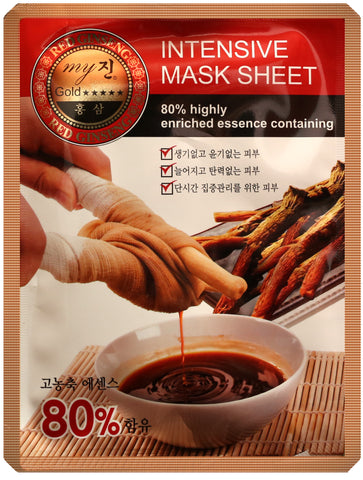 Red Ginseng mask sheet (10 sheets)