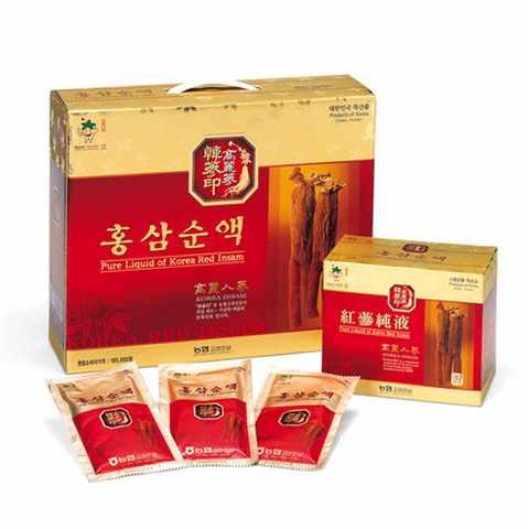Korean Red Ginseng Extract Liquid by Bulrogeon 80ml X 30packs