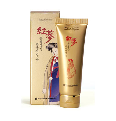 Red Ginseng Cleansing Soap