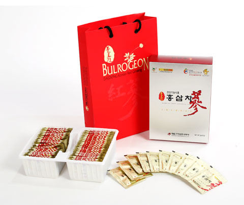Korean Red Ginseng Tea (3g x 50 packs) by Bulrogeon