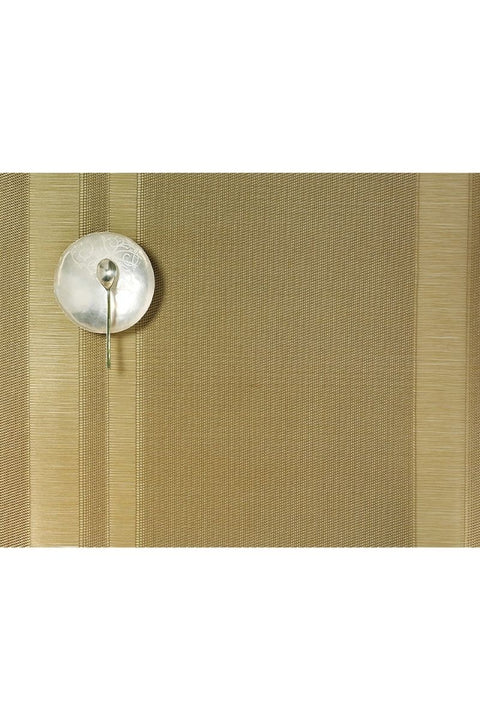 Placemat, Tuxedo Stripe Gold Rectangle
