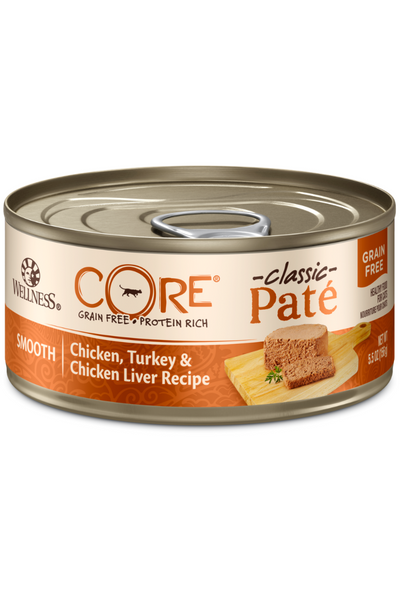 Wellness CORE® Pâté Chicken, Turkey & Chicken Liver