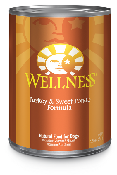 Wellness Complete Health Turkey and Sweet Potato Dog Food Pate