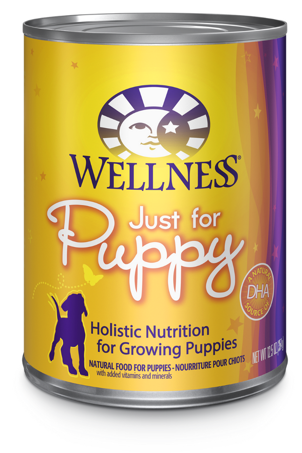 Wellness Complete Health Just for Puppy Dog Food Pate