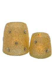 Candleholder, Starry Night Votive