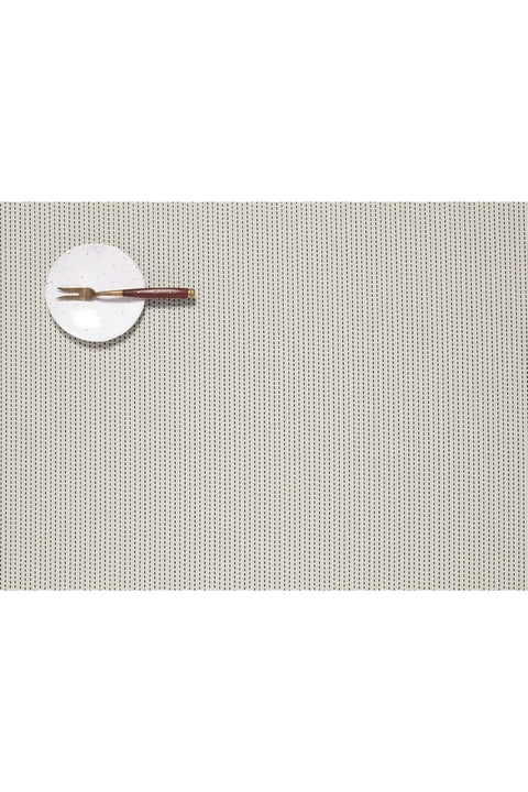 Placemat, Pickstitch Rectangle Limestone