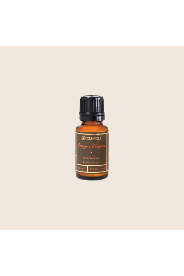 Aromatique Orange & Evergreen Refresher Oil