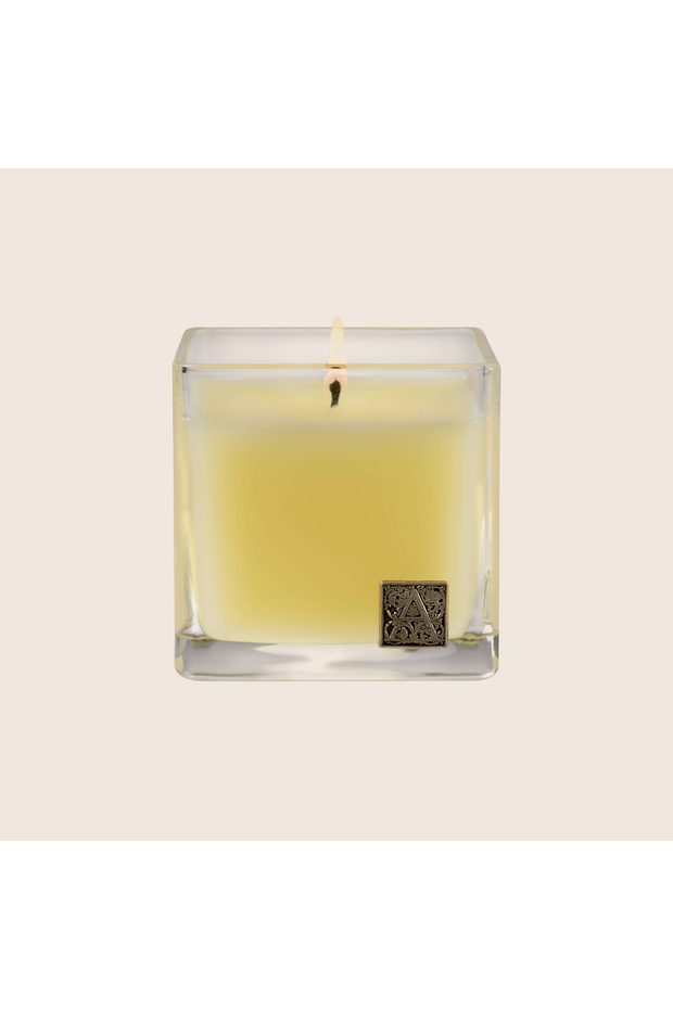 Aromatique Orange & Evergreen Cube Candle