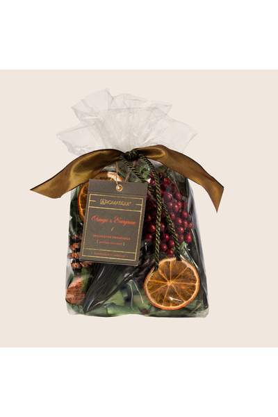 Aromatique Orange & Evergreen Potpourri - Small