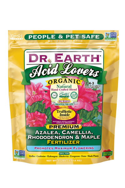 Fertilizer, Dr. Earth Acid Formula