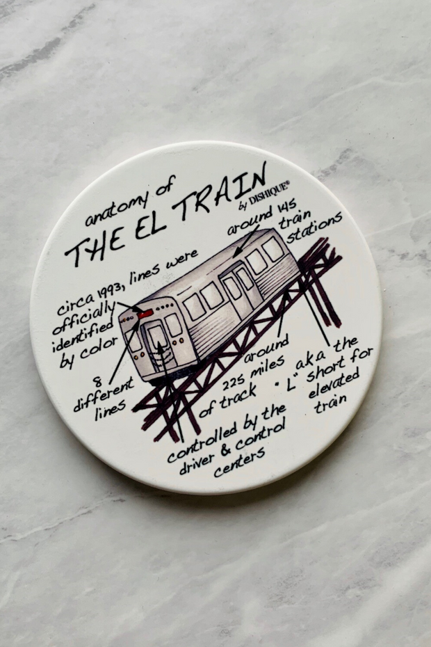 Coaster, Anatomy of the El Train