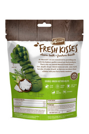 Merrick Fresh Kisses Grain Free Coconut Oil and Botanicals Dental Dog Treats
