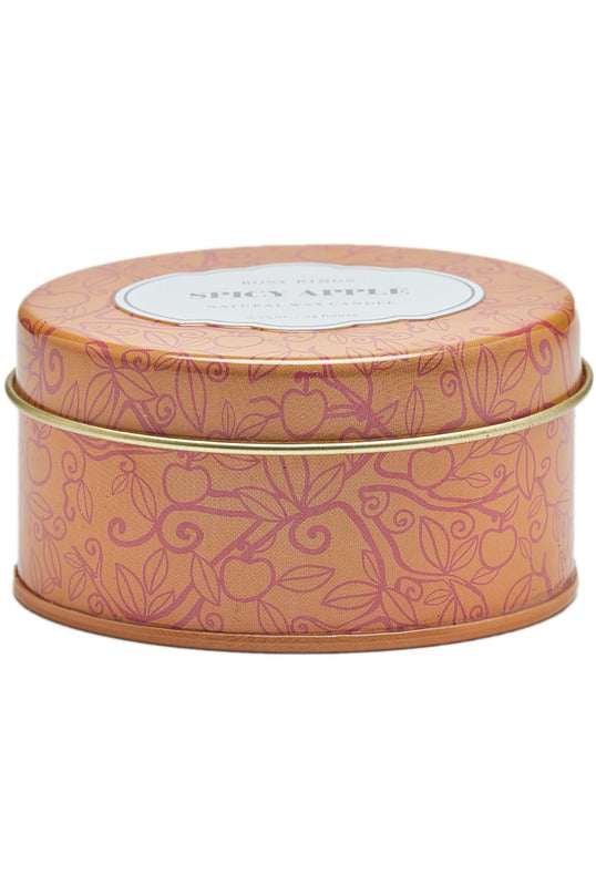 Rosy Rings Travel Tin Spicy Apple Candle