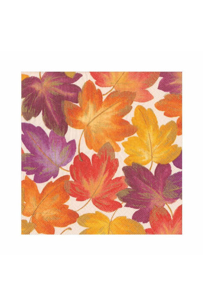 Caspari Fallen Leaves Paper Luncheon Napkins