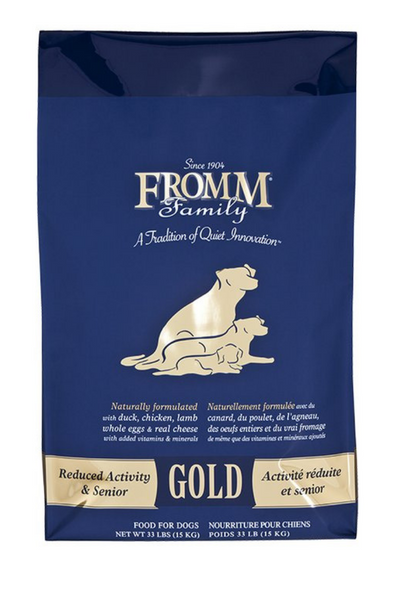 Fromm Reduced Activity & Senior Dog Food