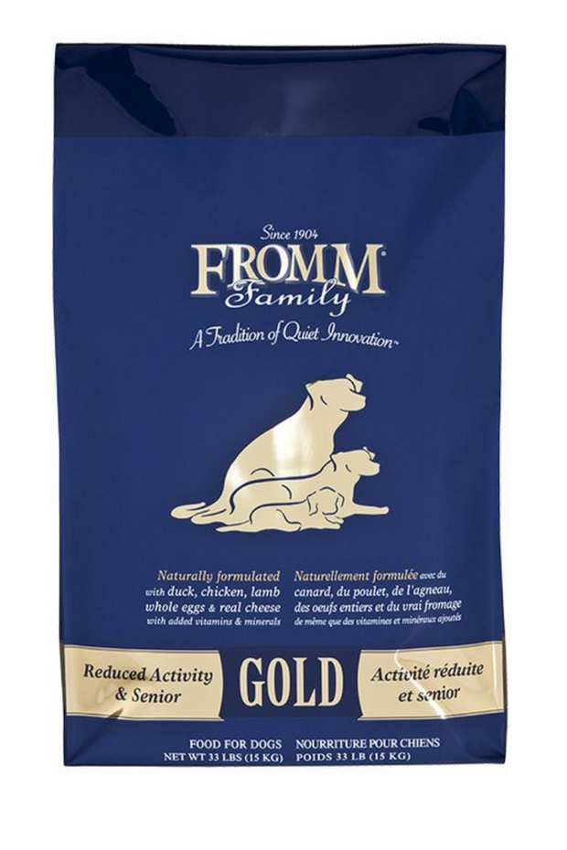 Fromm Reduced Activity & Senior Gold Dry Dog Food