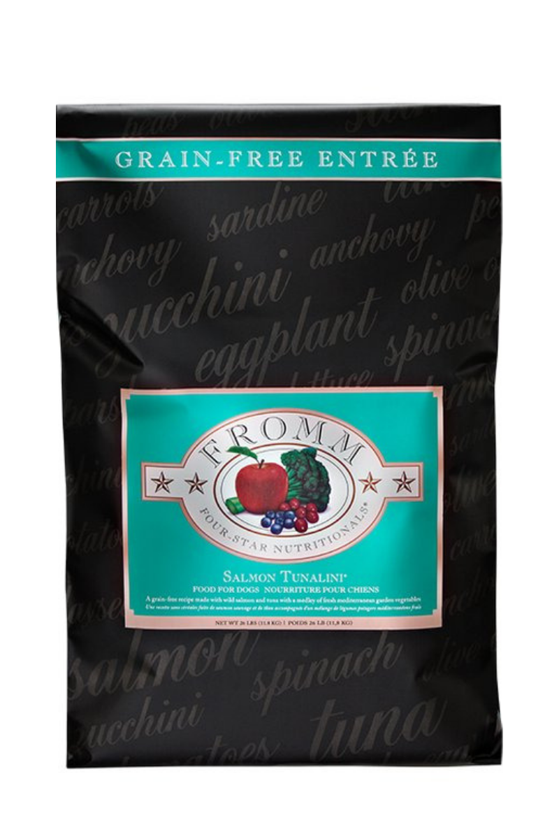 Fromm Salmon Tunalini Four-Star Nutritionals Dog Food (Grain Free)