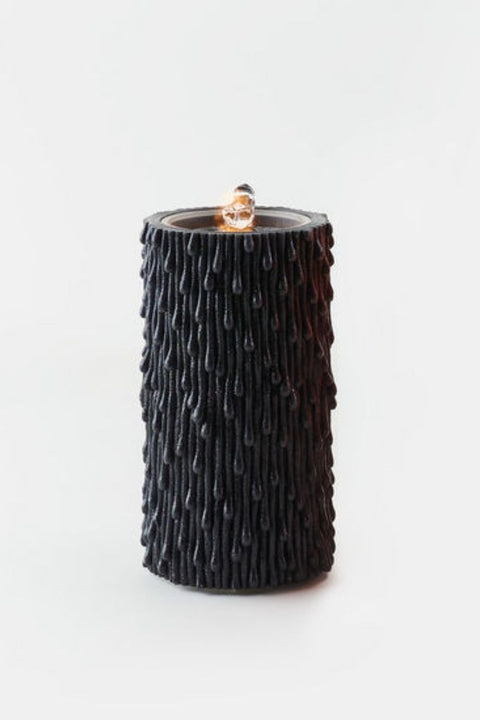 Black Water Wick Candle w/ Remote