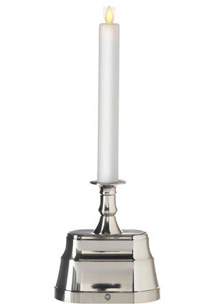 Moving Flame Base Nickel Candle