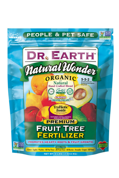 Fertilizer, Dr. Earth Fruit Tree