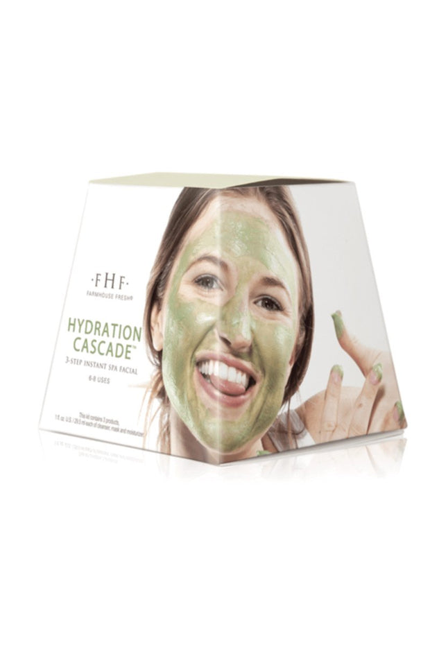 Hydration Cascade: 3-step Instant Spa Facial