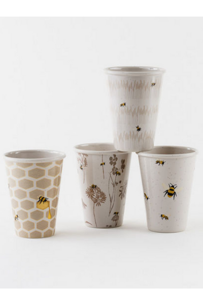 Busy Bees Cup - Set of 4