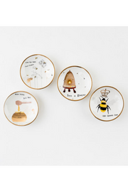 Busy Bees Dipping Bowl - 4 assorted designs