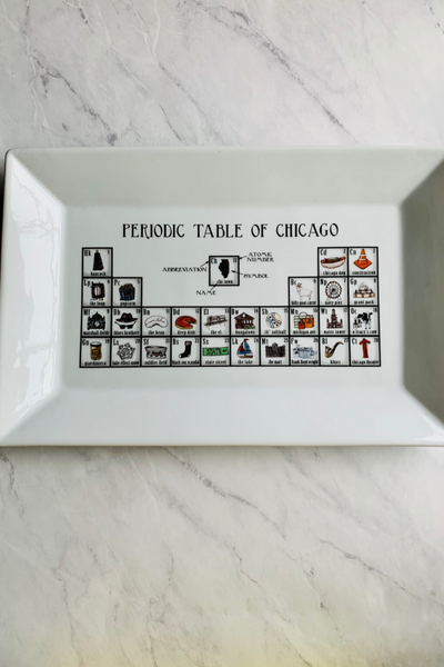 Platter, Periodic Table of Chicago