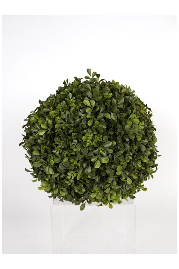 Faux Boxwood Ball 14""