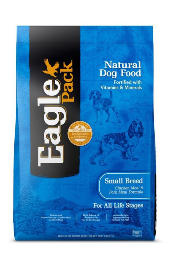 Eagle Pack Natural Small Breed Chicken and Pork Meal Formula Dry Dog Food