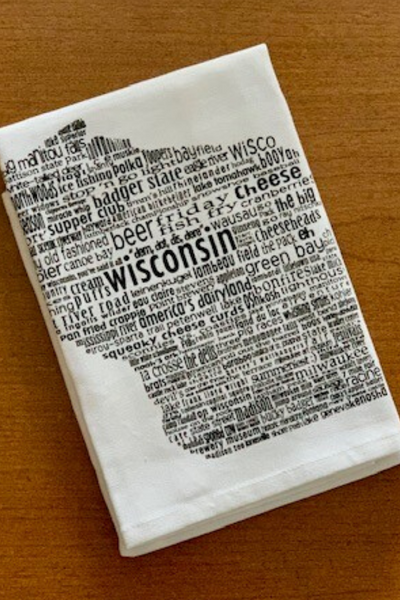 Dish Towel, Wisconson