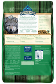 Blue Buffalo Wilderness Rocky Mountain Grain Free Rabbit High Protein Recipe Adult Dry Dog Food