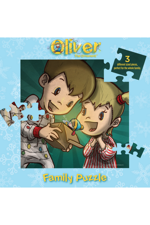 Oliver The Ornament- Children Discover Oliver Family Puzzle