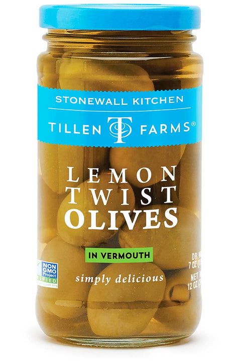 Stonewall Kitchen Lemon Twist Olives