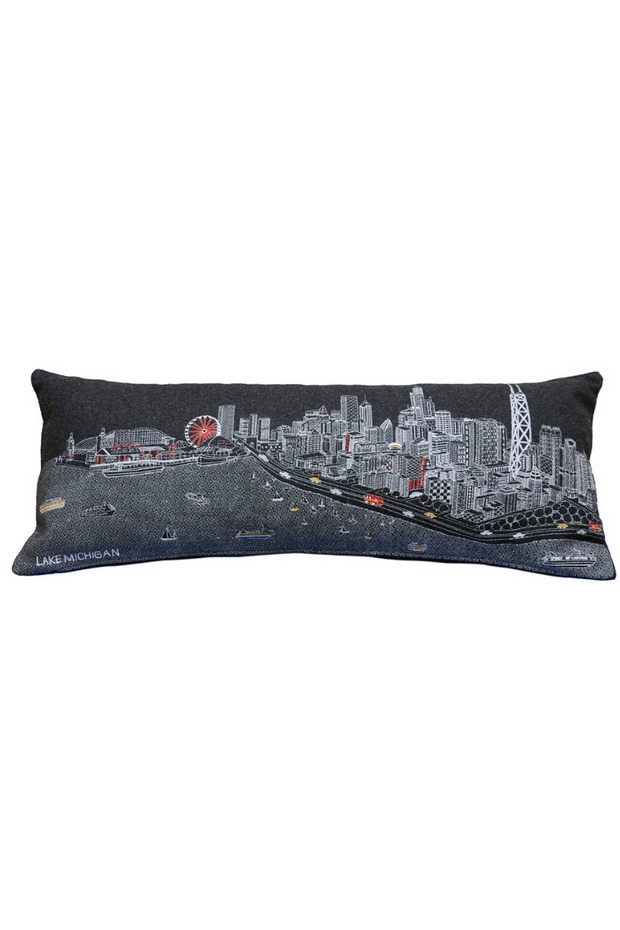 Pillow, Chicago Skyline