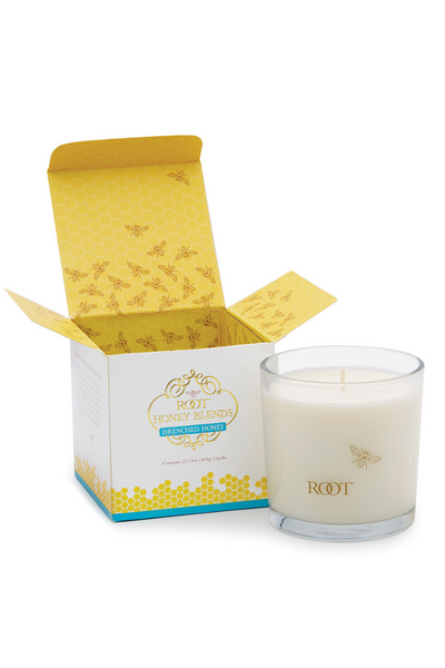 Honey Blends Candle Drenched Honey 13 oz