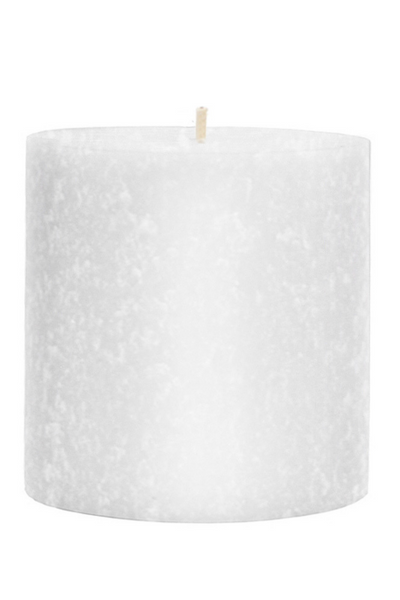 Root Beeswax Pillar Candle 3x3 White
